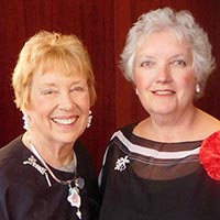 Suzanne Bushnell & Judith Stallworth, March 28/12:30pm